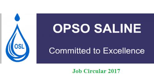 Opso Salaine Limited Job Circular 2017