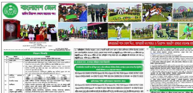 Bangladesh Jail Job Circular 2018